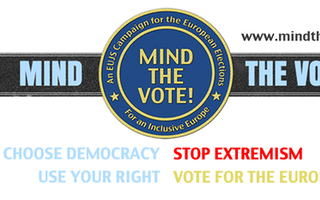 Thumb mind the vote banner twitter