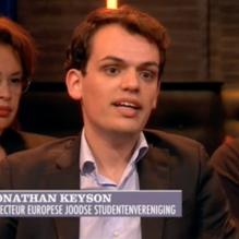 EUJS Executive Director makes TV appearance on Dutch late night show