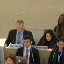 Dina Mouyal Amselem's address to the UN Human Rights Council