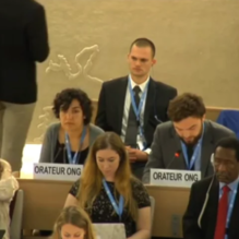 Maurice Kirschbaum's address to the UN Human Rights Council