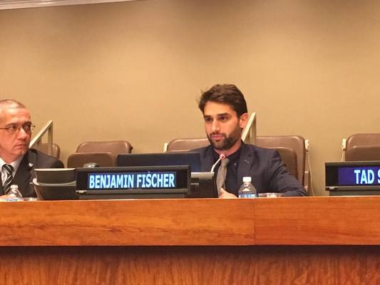 EUJS President delivers speech at the UN Headquarters