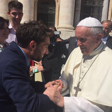EUJS meets the Pope