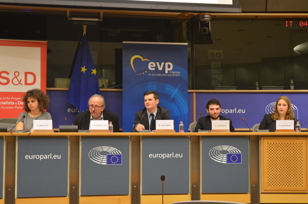 "A Jewish Youth Voice within the ""New Antisemitism in Europe"" Conference"