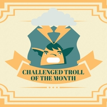 The Troll of the Month - January 2018