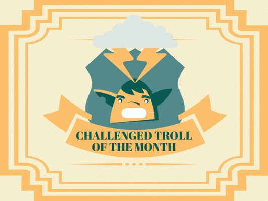 The Troll of the Month - February 2018