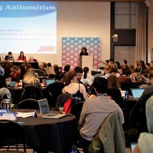 EUJS talks antisemitism at European Youth Forum COMEM!
