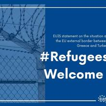 EUJS stands with refugees