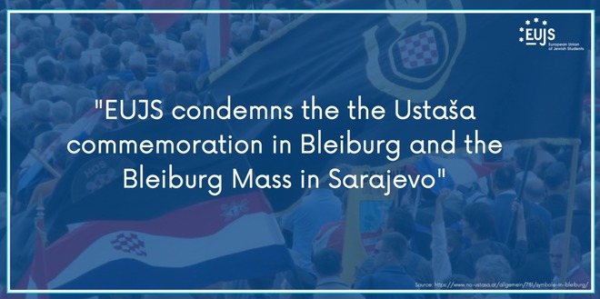 EUJS Condemns the Ustaša Commemoration in Bleiburg and the Bleiburg Mass in Sarajevo