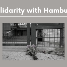 Solidarity with the Jewish Community in Hamburg