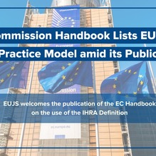 EU Commission Handbook Lists EUJS as a Best Practice Model
