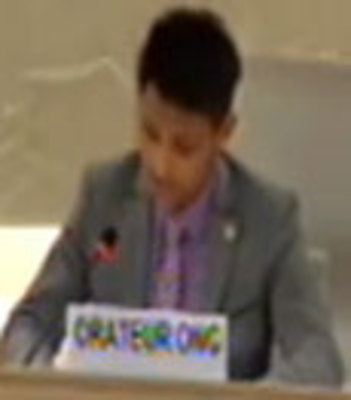 Amran Hussain EUJS speech at the United Nation Human Rights Council  21st of March 2011