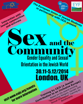 EUJS and CEJI partner on exploring Gender Equality and Sexual Orientation in the Jewish context